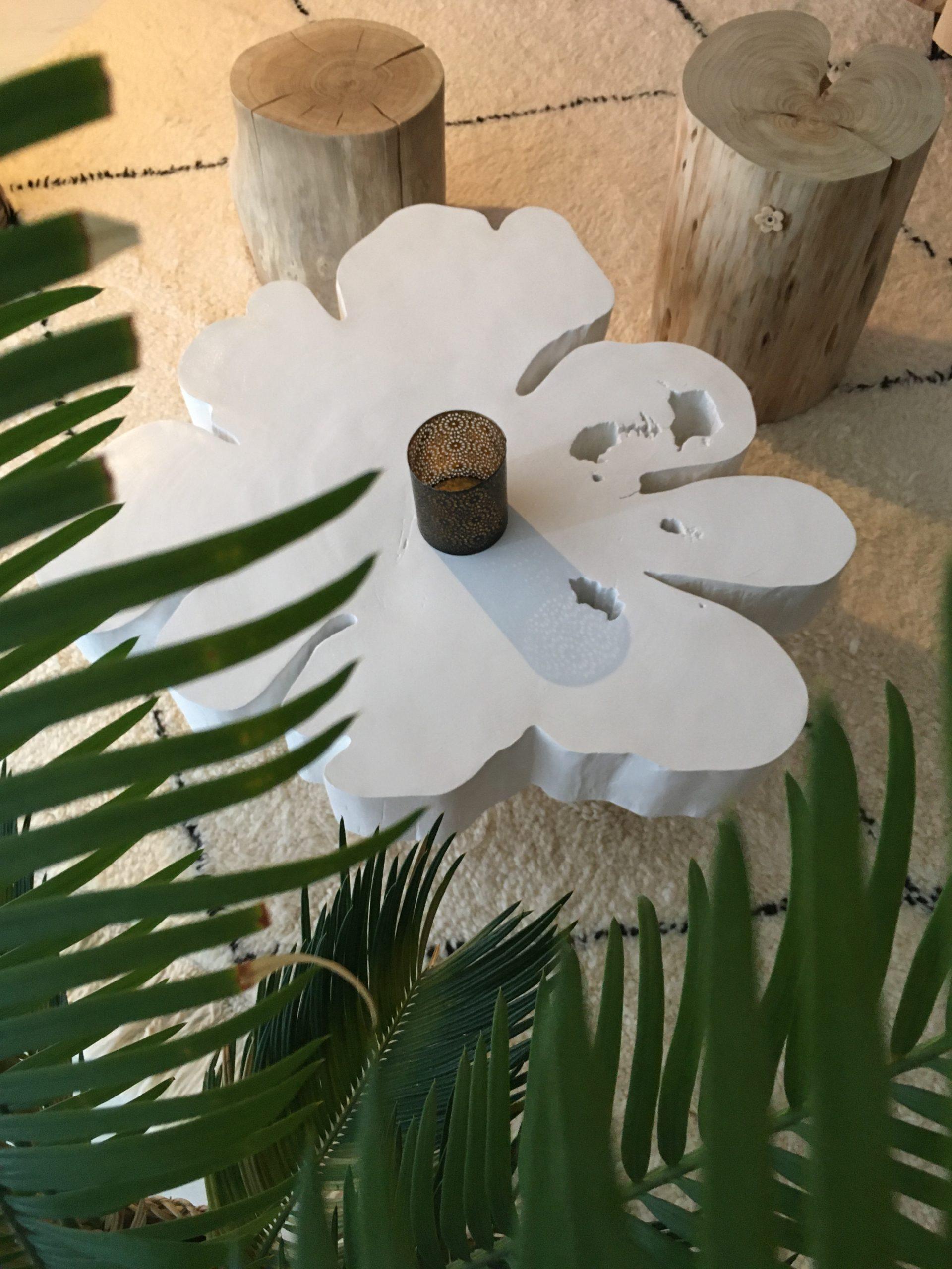 FLOWER COLLECTOR Blanc